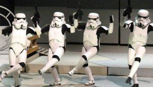 dancing stormtroopers