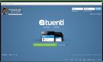 Website de Tuenti