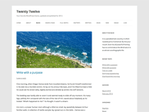 Twenty Twelve - Tema WordPress