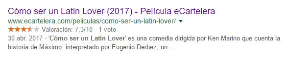 Snippet de 'Cómo ser un latin lover' de eCartelera
