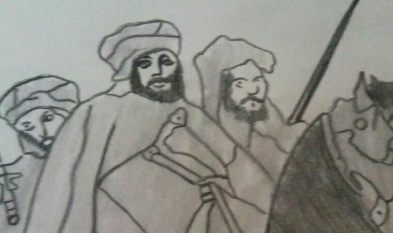 Nasr, el eunuco de la corte cordobesa (personajes reales)
