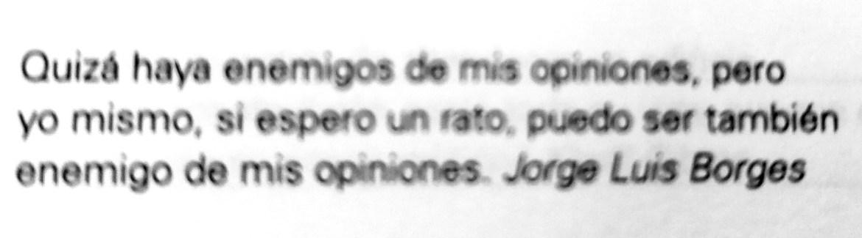 Frase de Jorge Luis Borges