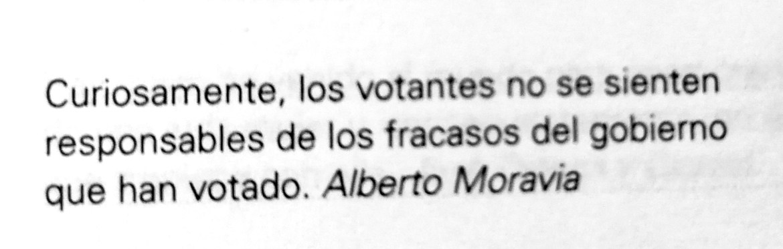 Frase célebre de Alberto Moravia