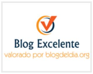 Logo del premio Blog del día concedido a sergioreyespuerta.com