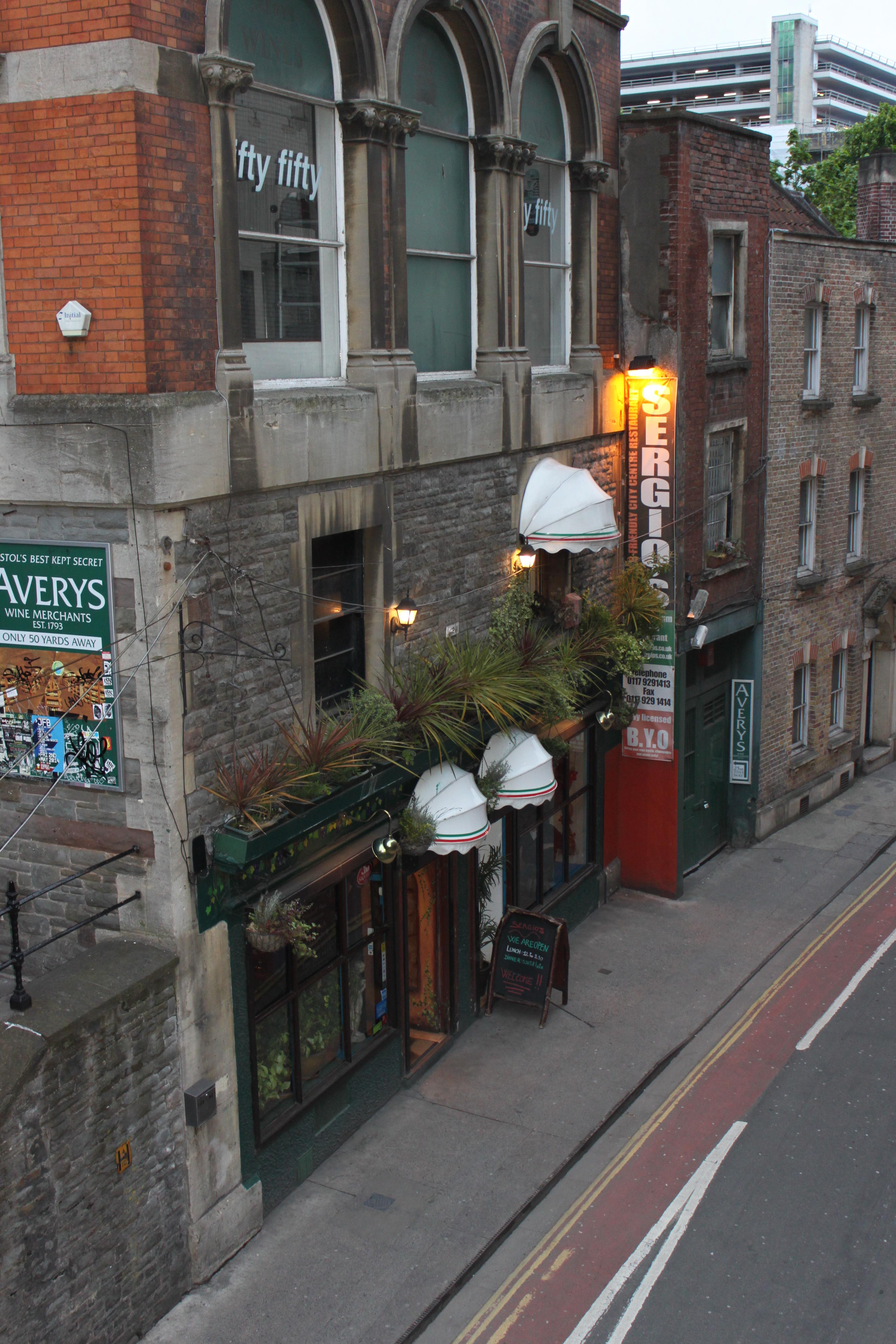 Sergio's Restaurant Bristol