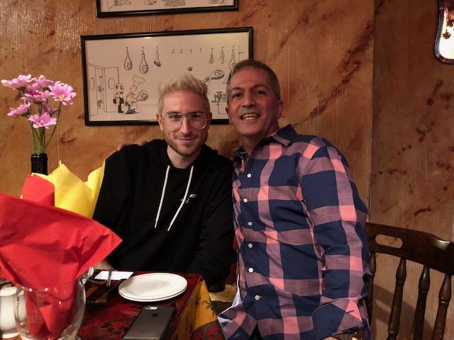 Nicholas Petricca (Walk the Moon) at Sergio's
