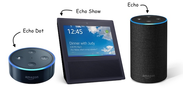 Amazon Echo y Amazon Echo Dot