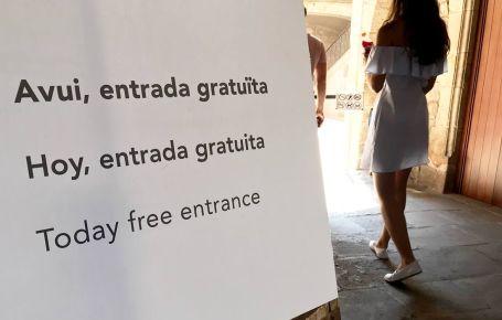 Entrada gratis en museo de Barcelona