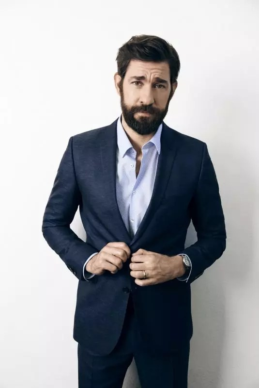 john krasinski height