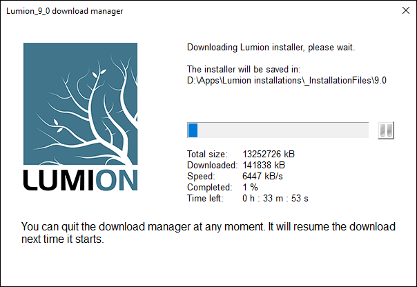 Lumion 7.5 / 9 Pro license + Primer key Full Activated