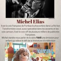 Michel Elias notre 6ème invité  Doublage vous avez dit doublage !