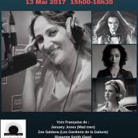 Nathalie Karsenti  notre 4ème invitée du débat Doublage vous avez dit doublage !