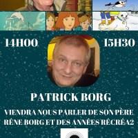 Patrick Borg notre invité du 14éme salon des séries et du doublage