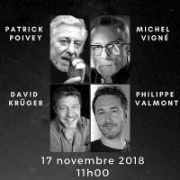 Les voix héroïques du Doublage c'est le 17 Novembre 2018 11h00 à la maison des Mines 75005 Paris