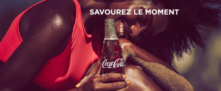 Lancement savourez le moment Coca Cola