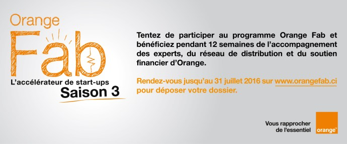 Orange Fab, les inscriptions c'est maintenant !