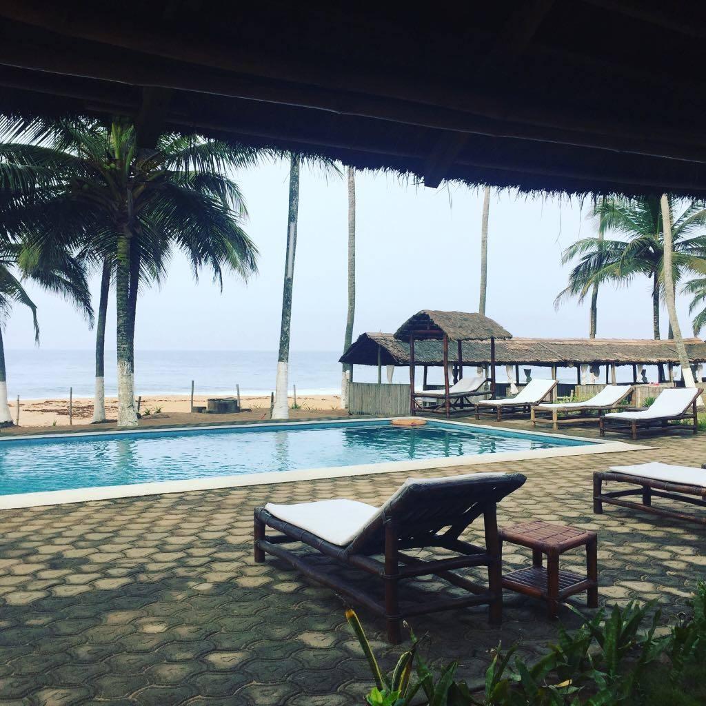 Deux nuits au Jardin d'Heden, hôtel, nouvelle rubrique, serialfoodie, tourisme, tripadvisor, route de hassan, côte d'ivoire plage, mer, piscine, jardin d'heden