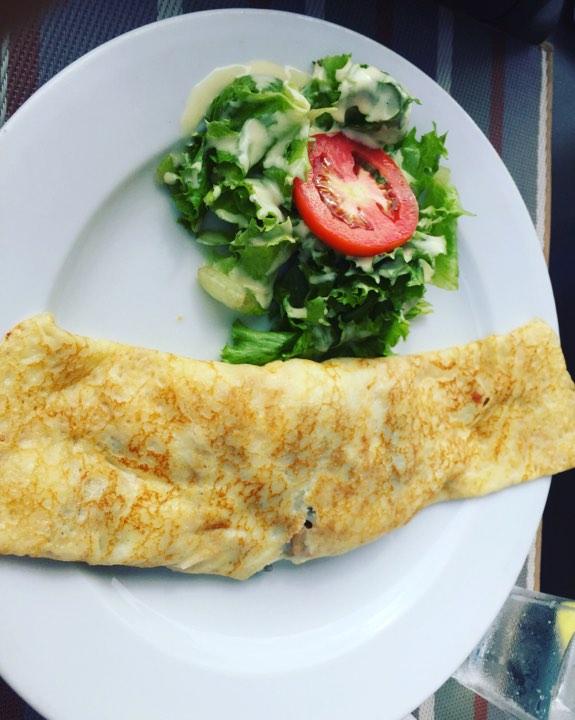 À la découverte de la crêpe forestière de Abidjan Café, serialfoodie, blog, blogger, food, foodie, civ, ci225, team 225, abidjan, critique culinaire