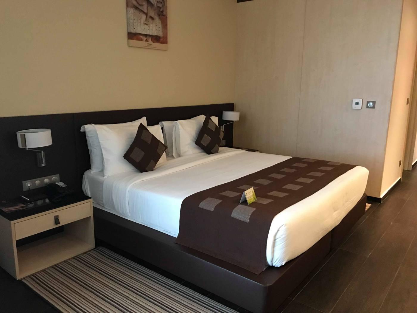 Une nuit à Azalaï hôtel Abidjan, Azalai hôtel Abidjan, serialfoodie, review hôtel, cote d'ivoire, Abidjan, tourisme, travel, trip, tripadvisor