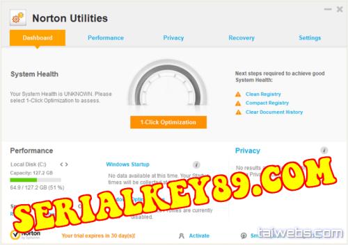 Norton Utilities Premium 17.0.8.60