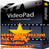 Nch Videopad video editor professional 8.67