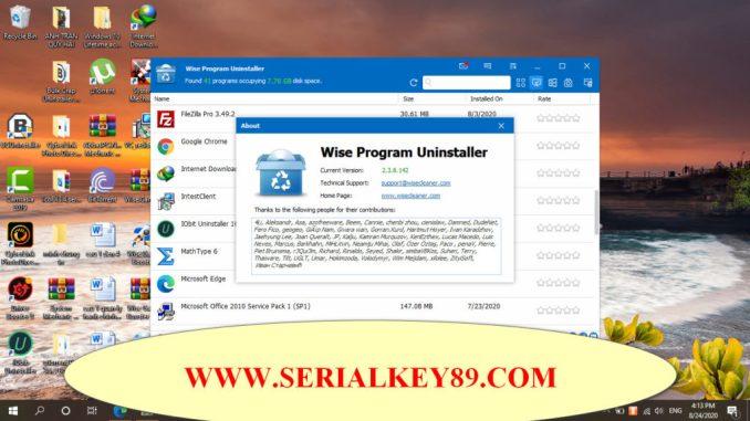 Wise Program Uninstaller 2.3.8.142