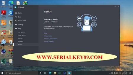 OutByte PC Repair 1.1.2.58265