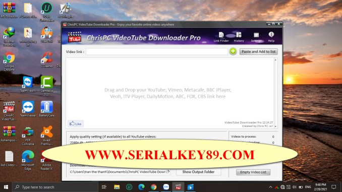 ChrisPC VideoTube Downloader Pro 12.14.27