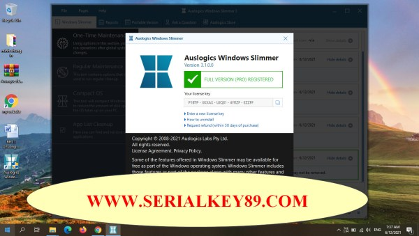 Auslogics Windows Slimmer Professional 3.1.0