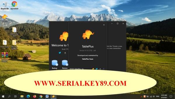 TablePlus 4.1.0 Build 170