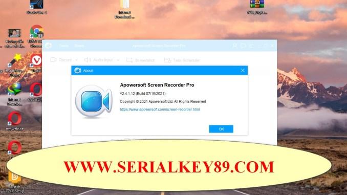 Apowersoft Screen Recorder Pro 2.4.1.12