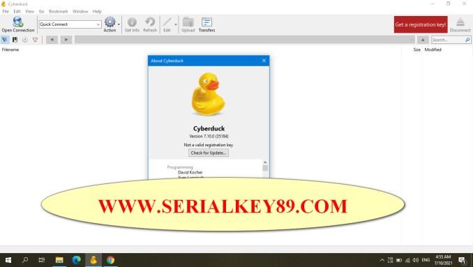 Cyberduck 7.10.0