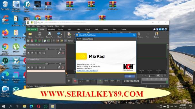 NCH Mixpad 7.45