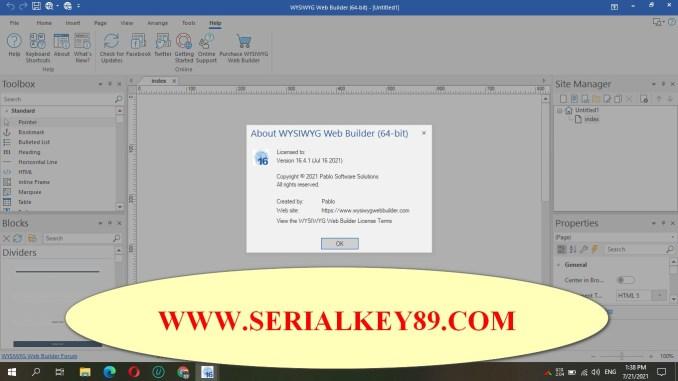 WYSIWYG Web Builder 16.4.1 (x64)