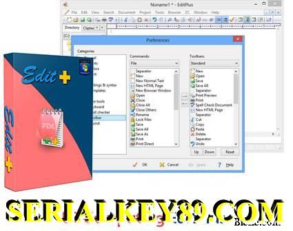 EditPlus 5.5 Build 35810