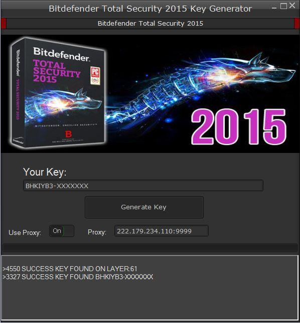 bitdefender total security 2015 keygen generator