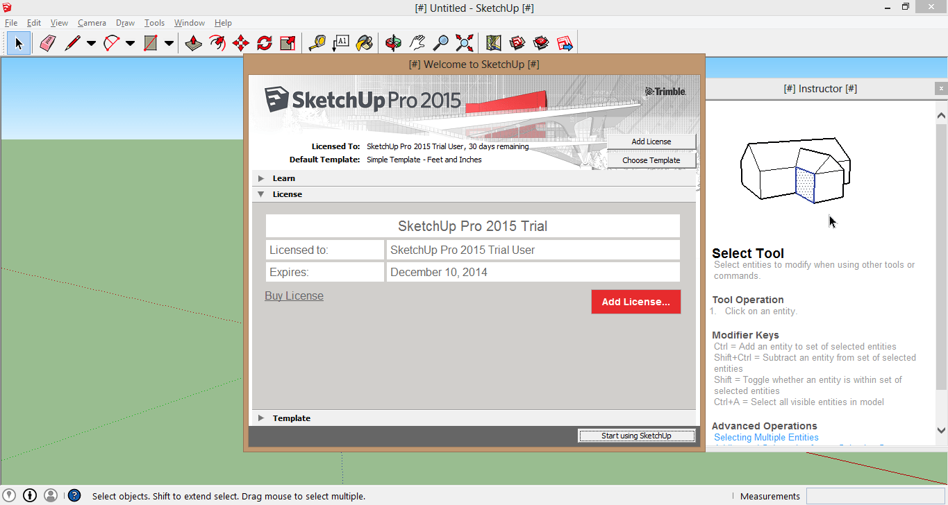 sketchup pro 2015 crack full serial key