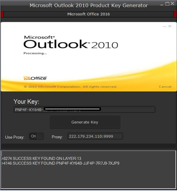 microsoft outlook 2010 product key crack