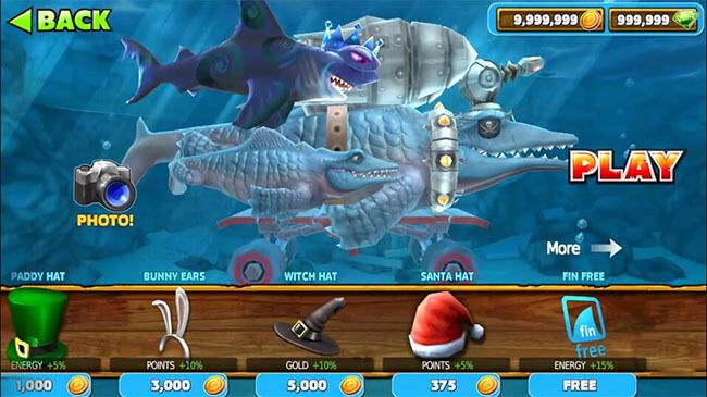 hungry shark evolution hack android apk
