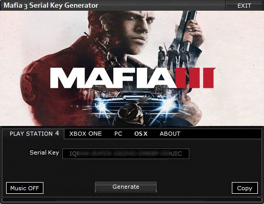 Mafia 3 III CD Key Generator