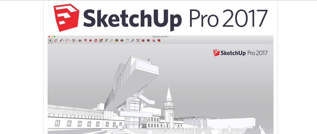 Sketchup 2017 Pro Crack Plus Serial License Key Win | Mac