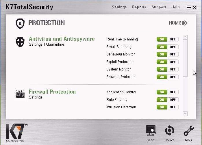 k7 total security activation key 2017 crack