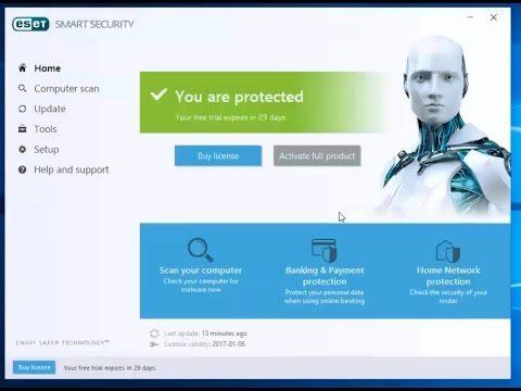 Eset Smart Security Premium 10 License Key 2018 >> Eset Smart Security 10 Crack License Serial Keys 2018 Free Download - Serial Key Generator Free