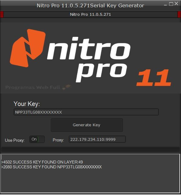 Nitro Pro 11 Crack Full Serial Number Key 2018 Free Download