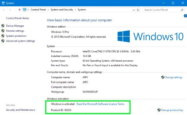 Windows 10 Crack With Activate Product Key 64 bit Free ...