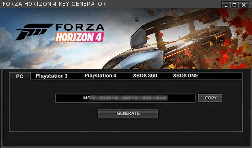 Forza Horizon 4 License Key