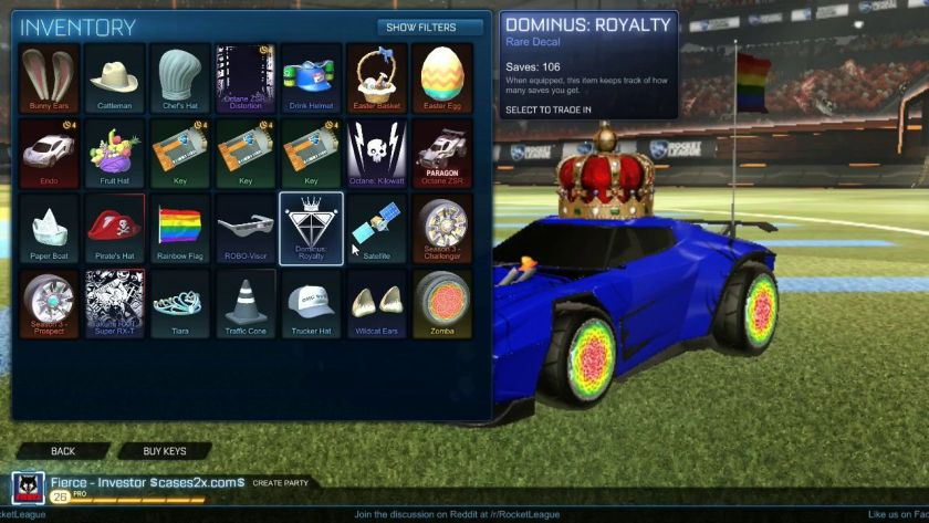 Rocket League Keys 2020