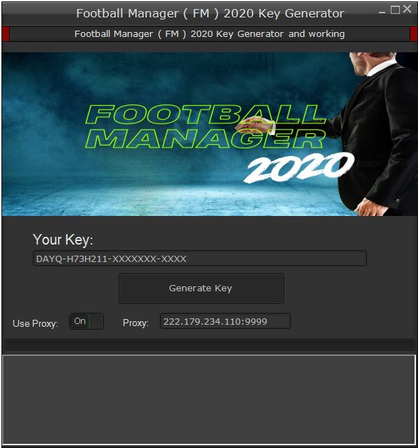 Football Manager ( FM ) 2020 Key Generator