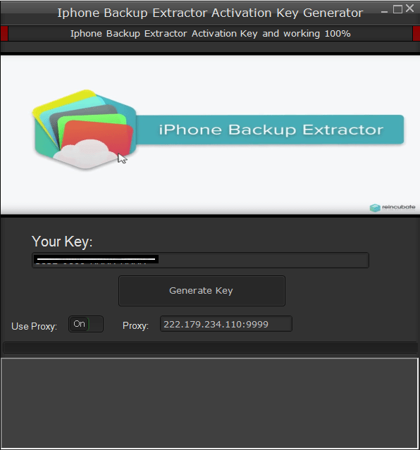 Iphone Backup Extractor Activation Key 2020