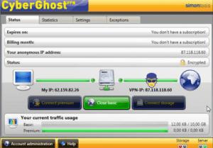 CyberGhost VPN 7.2 Crack Torrent